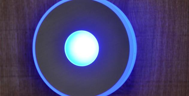 led lampe rund blau typ deckenstrahler bl mer holzhandlung. Black Bedroom Furniture Sets. Home Design Ideas